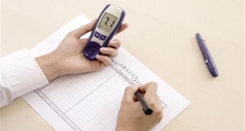 血糖试条使用图片步骤